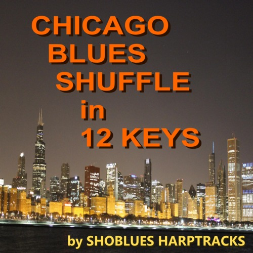 Product picture Chicago Blues Shuffle in 12 Keys